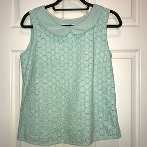 Boden collared top